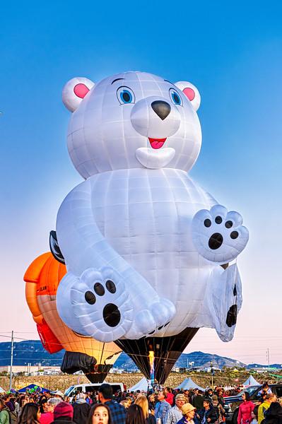 Polar Bear Balloon - John O'Neill Photoagraphy