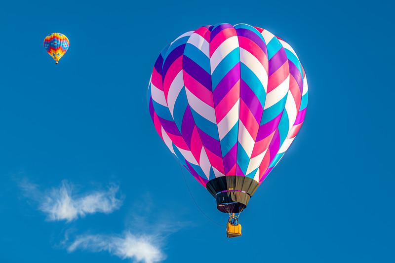 Pink-Purple-Aqua Balloon - John O'Neill Photography