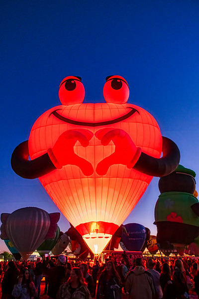 Heart Balloon - Later - John O'Neill Photography