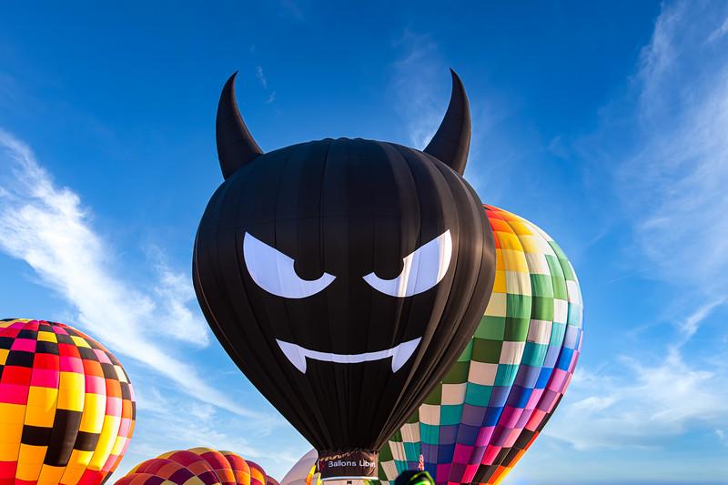 Devil Balloon - John O'Neill Photography