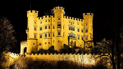 Hohenschwangau at Night