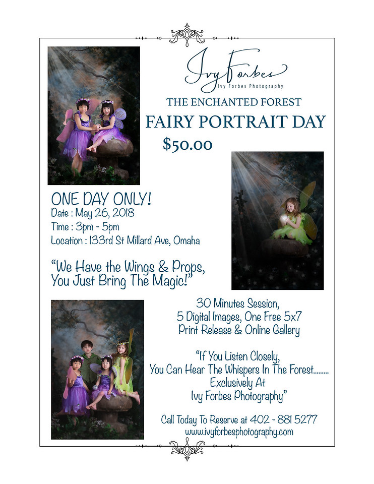 Fairy Portrait Day - May 26, 2018.