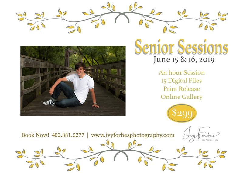Mini Senior Sessions