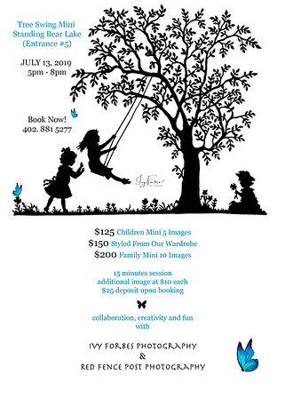 Tree Swing Mini Session - July 13, 2019