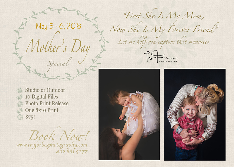 Mother's Day Special!  $75 only!