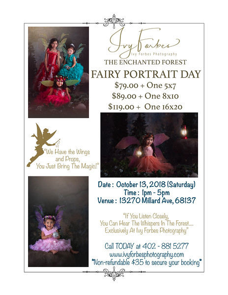 Fairy Session - Final Session for 2018!