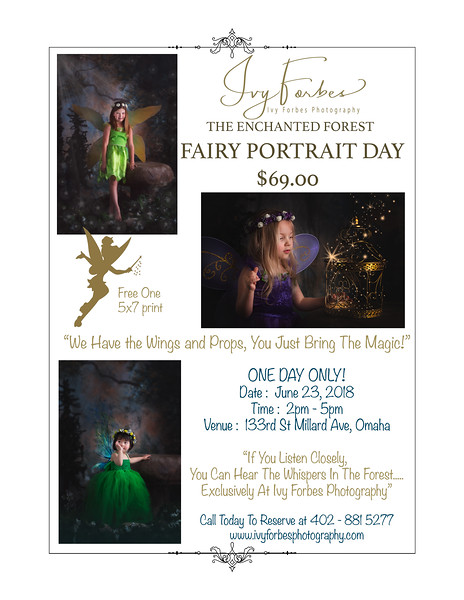 Fairy Portrait Day - June 23, 2018