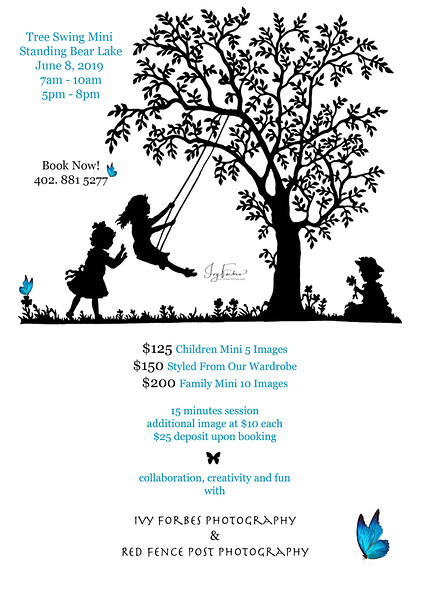 Tree Swing Mini Session on June 8, 2019