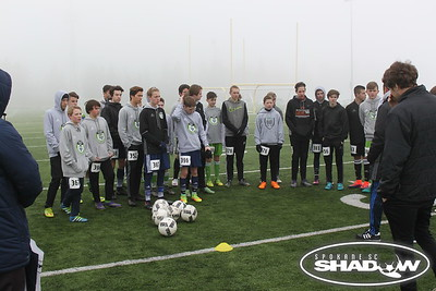 Shadow Sounders - RCL - Boys HS Tryouts 2017