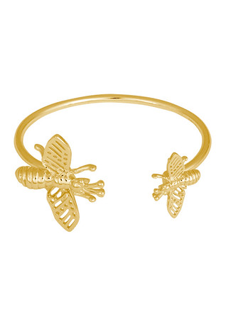 INSECT CUFF GOLD