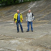 "On the high banked track at Brooklands, ""Britains Home of Motorsport and Aviation"""