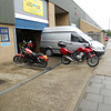 Our bike rental agency...About Town Bike Hire, Wandsworth, London. My Honda CB600S