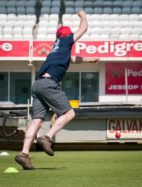Rob drops the ball