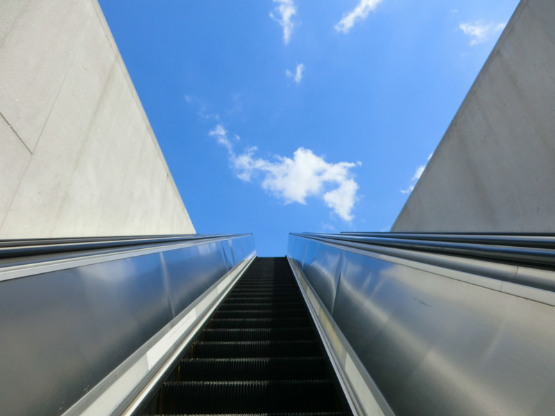 June 14 2011  Escalator to the sky