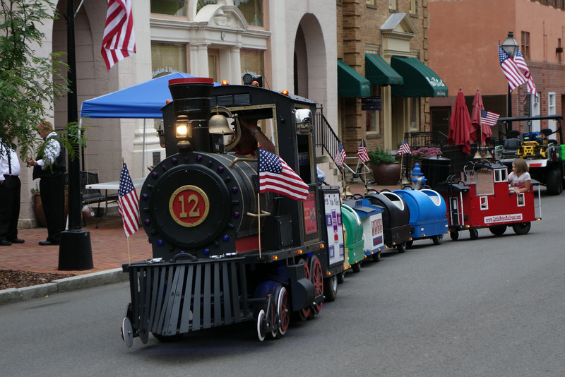 July 3 2014  Train at Jonesborough Days