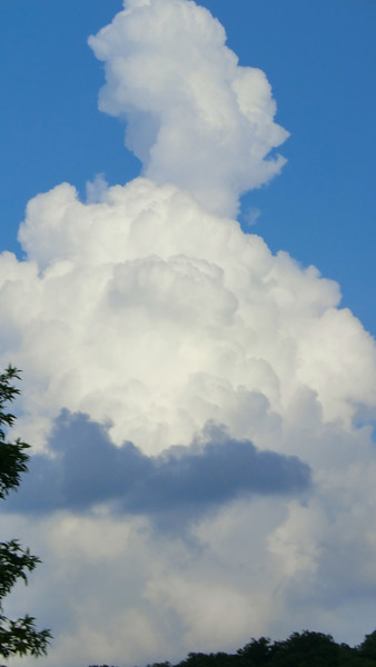 July 31 2011   Billowing clouds