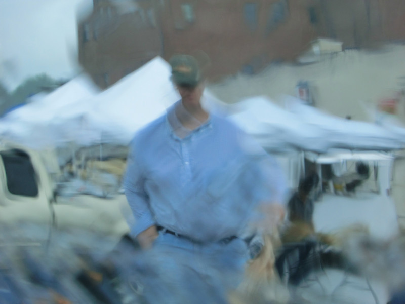 July 16 2011   Rainy day at the farmer's market