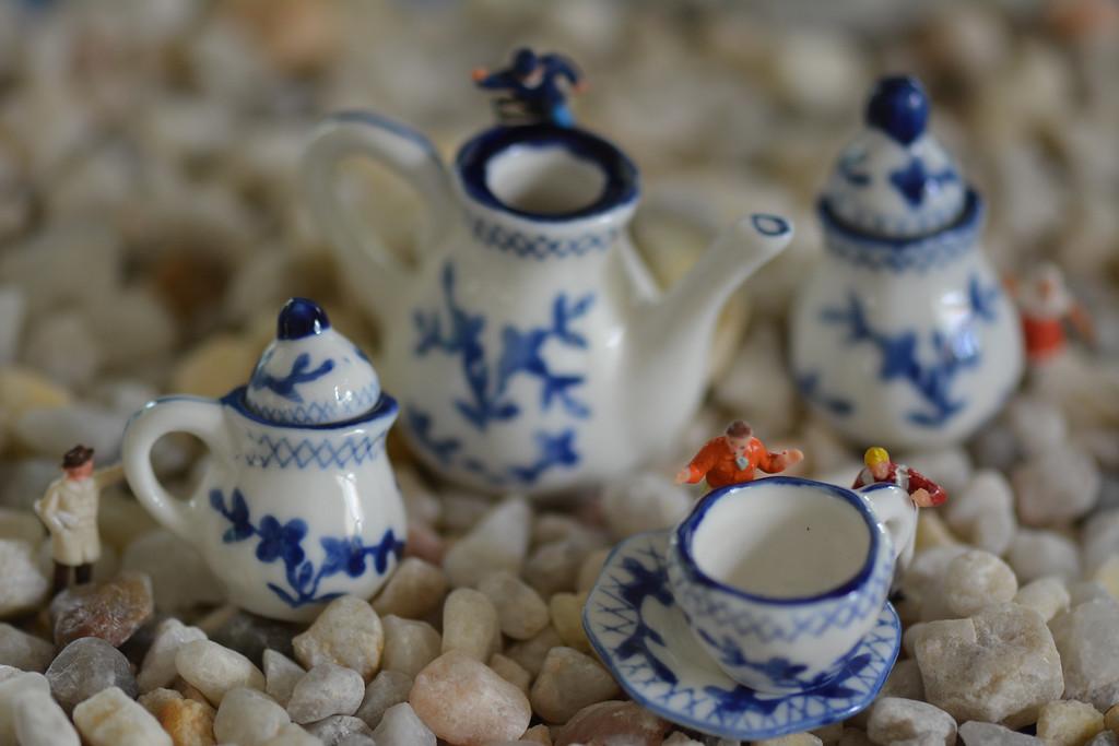 August 11 2013   The Tea Team Prepares for Afternoon Tea