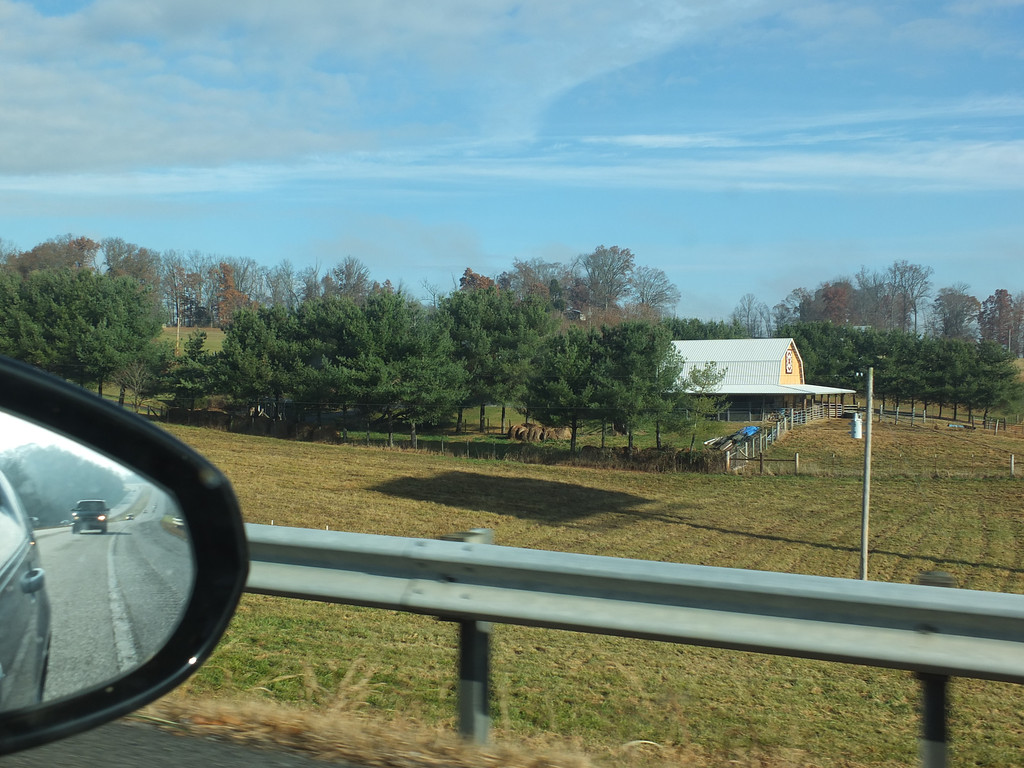 November 16 2013   Driving by the farm