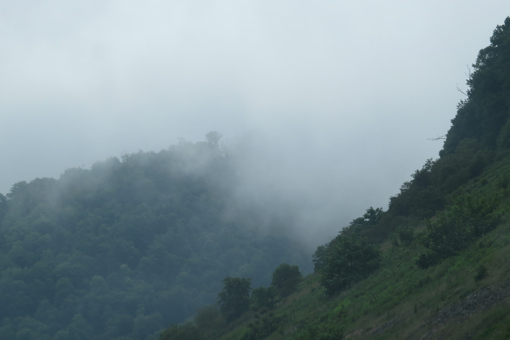 July 20 2014  Fog in the mountains