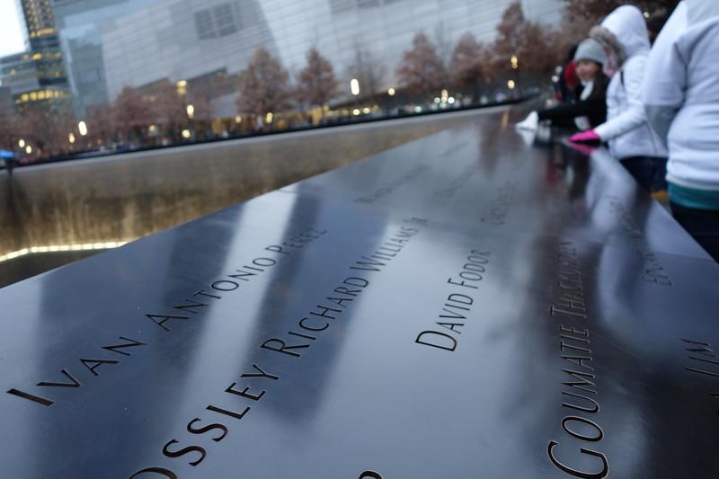 December 20 2014  9/11 Memorial