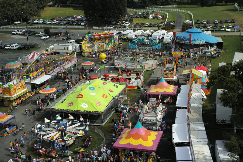 August 23 2014  Appalachian fair from the ferris wheel