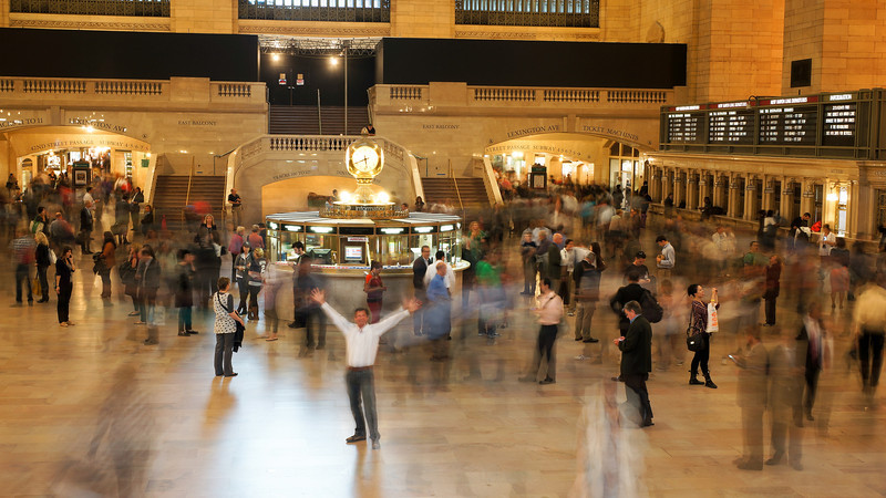 September 21 2011  Rush hour at Grand Central