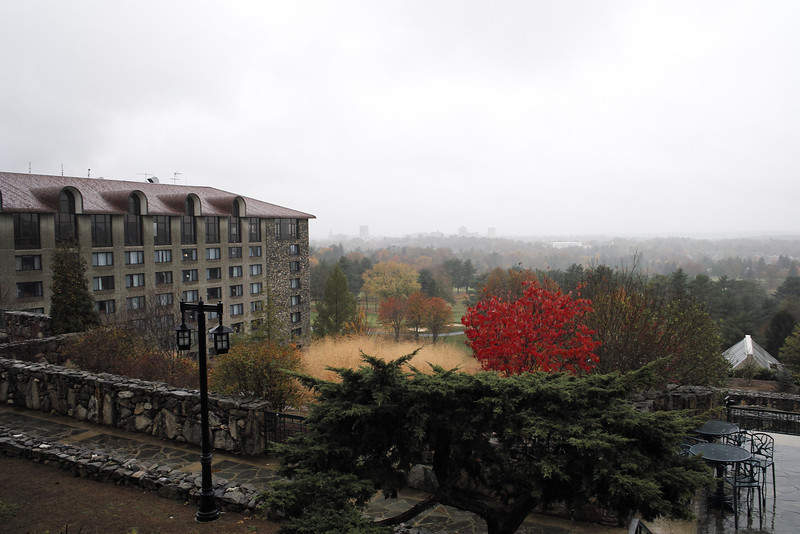 October 28 2012   Rainy Afternoon at Grove Park Inn