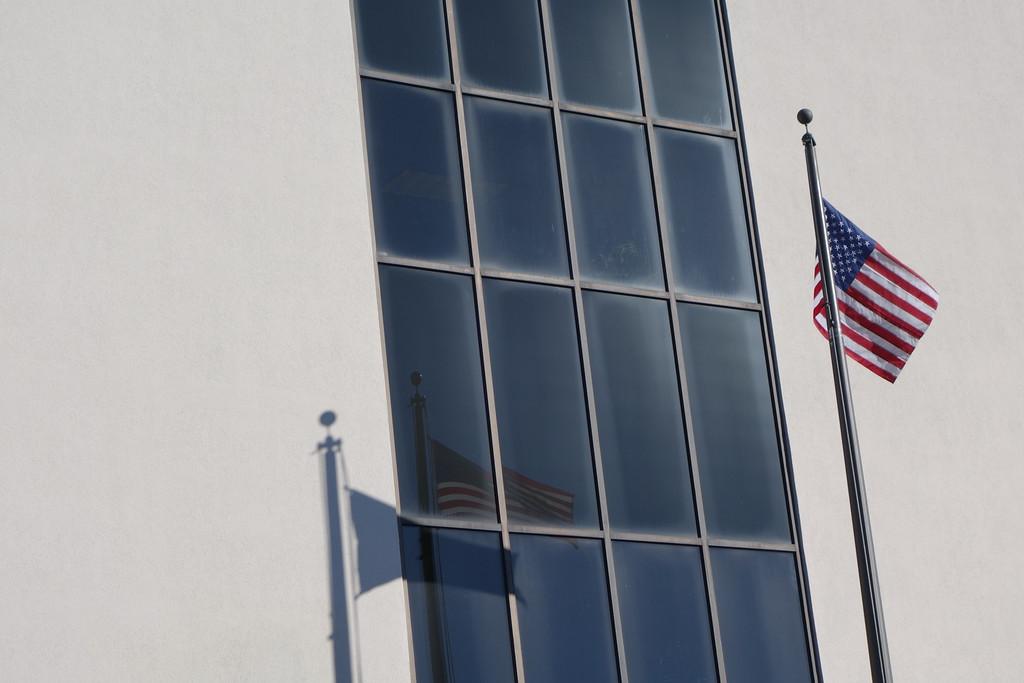 February 3 2015  Three flags