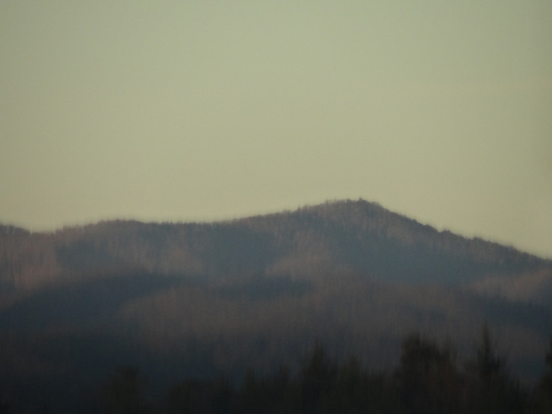 November 22 2012   Last Light on the Mountains