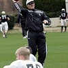 Ayers at Spring Practice