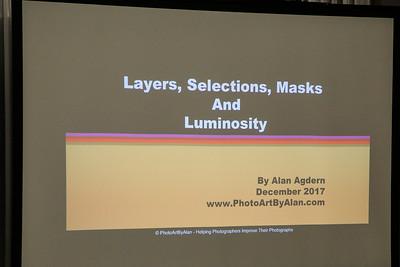 IPG Presents - Alan Agdern Luminosity Masks 12/11/2017