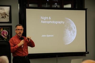 IPG Presents - John Speroni Night & Astrophotography 11/13/2017
