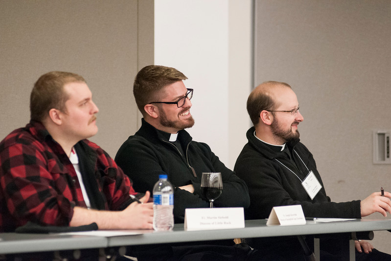 Photos from the IPP Associate Pastor workshop held on February 5-8, 2018. This workshop provided an opportunity to the new priests (ordained in the past year) to reflect on their experience of transition from seminary to parish ministry.