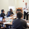 Dr. Brian Reynolds talked to IPP Gearing Up to be a Pastor participants about planning and goal setting when being assigned to a new parish.