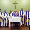 Photos of the IPP World Priest workshop held on February 27 - March 2, 2018. Participants came from three countries (India, Nigeria, and Panama) -- three religious orders and two dioceses. Presenters include:<br /> <br /> - Jeff Jenkins, Director of the Mader Learning Center<br /> - Dr. Robert Alvis, Academic Dean and Professor of Church History<br /> - Fr. Francis Kalapurackal, Administrator of St. Thomas More Parish (Mooresville, IN) and member of the iPP Advisory Board