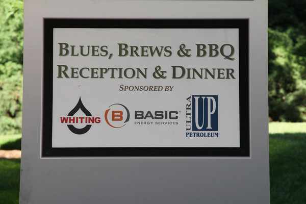 Blues, Brews, & BBQ reception