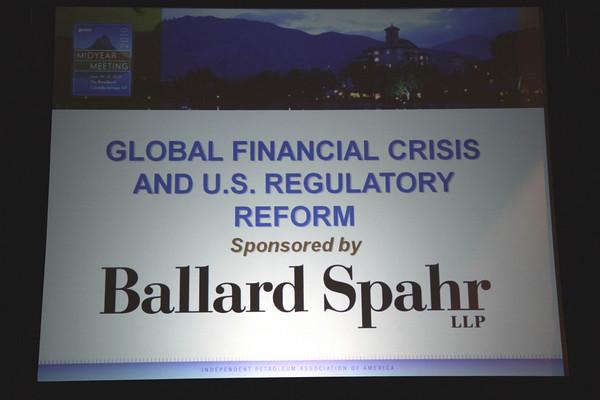 Global Financial Crisis & U.S. Regulatory Reform