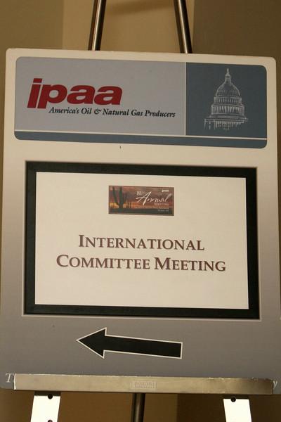 International Committee Meeting