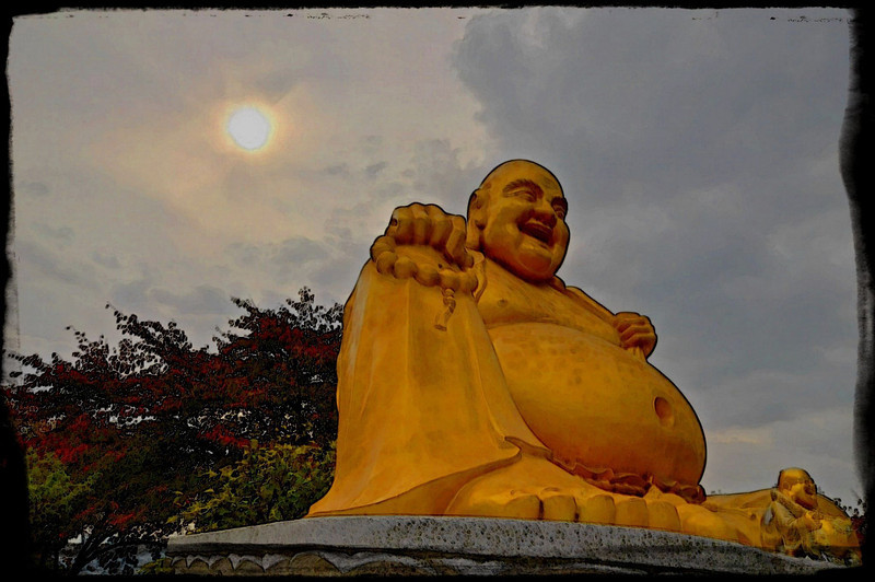 Laughing Buddha - Incheon Korea