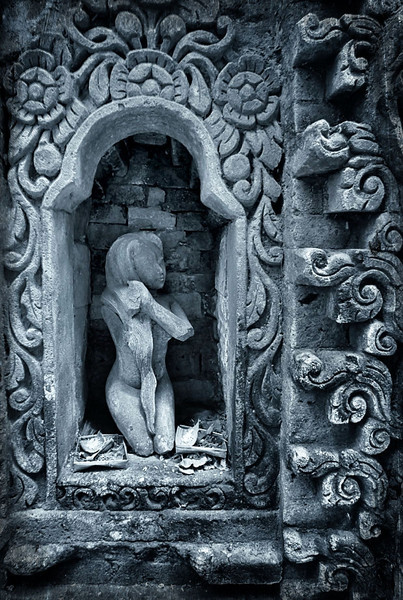 Rock Figurine in Palace - Ubud, Bali