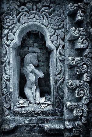 Rock Figurine in Palace - Ubud, Bali