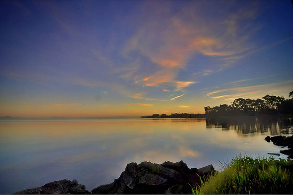San Francisco Bay Pre Dawn