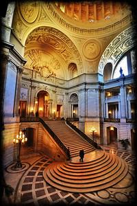 San Francisco City Hall Rotunda - iPad iArt