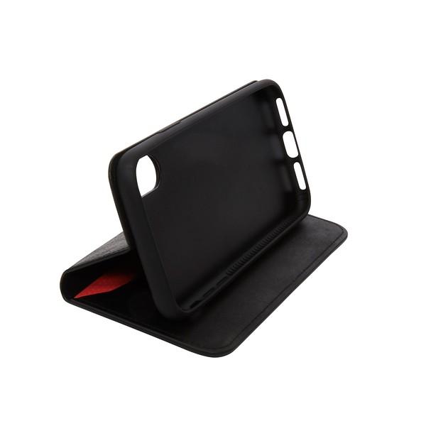 iPhone X Premium Leather Folio 90-978-BLA Folded
