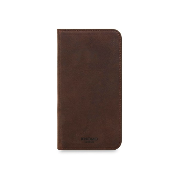 iPhone X Premium Leather Folio 90-978-BRW Front