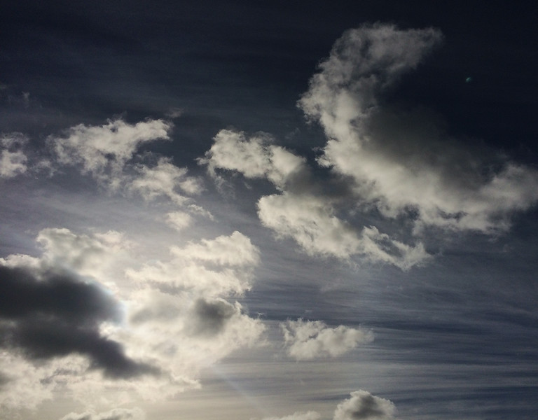 iPhone clouds