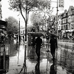 Rain on the Uxbridge Road