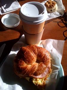 Breakfast with a friend 6/02/2010