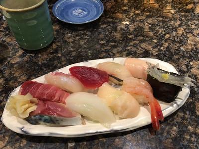 Sushi in Tsukishima